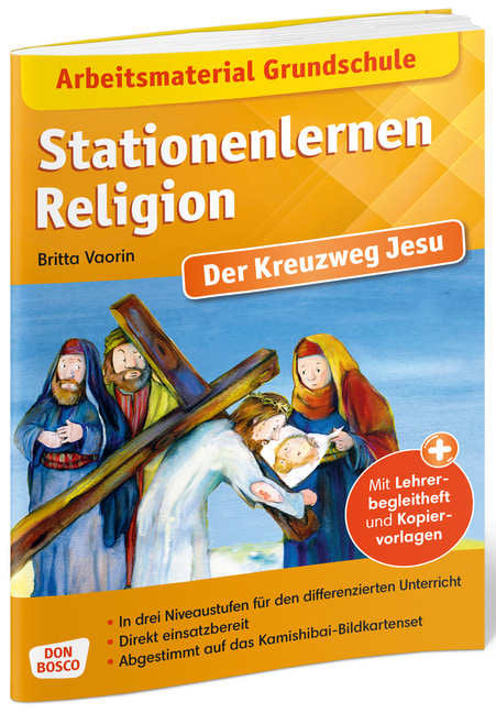 Arbeitsmaterial Grundschule Stationenlernen Religion Der Kreuzweg Jesu