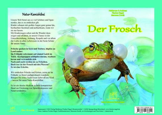 Gedicht lustig frosch Der kleine