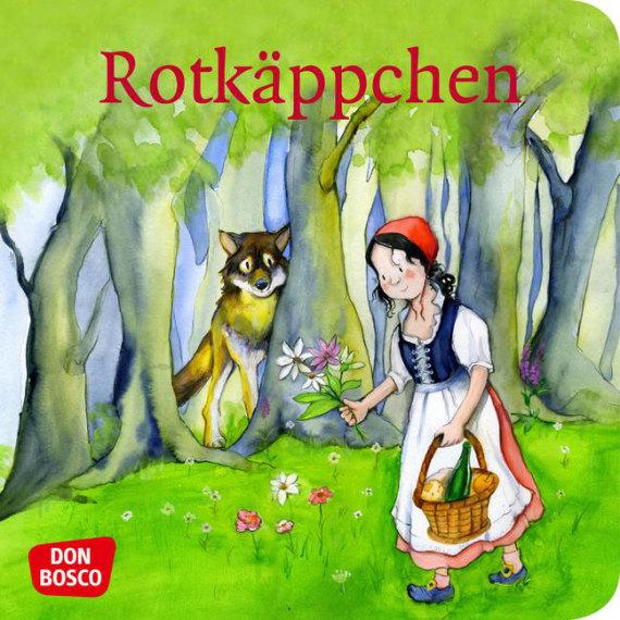rotkäppchen minibilderbuch don bosco minis märchen