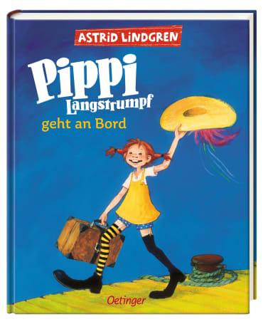 Pippi Langstrumpf geht an Bord (farbig), 9783789141638