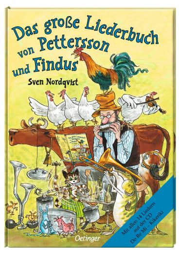 Das große Liederbuch von Pettersson und Findus, 9783789143144