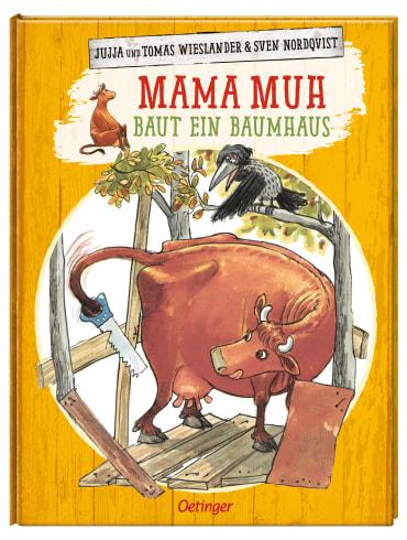 Mama Muh baut ein Baumhaus, 9783789173059