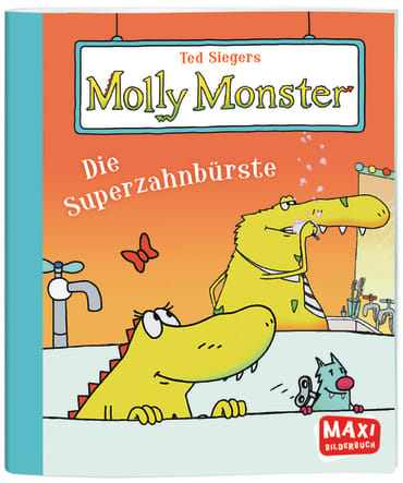 Ted Siegers Molly Monster, 9783770777044