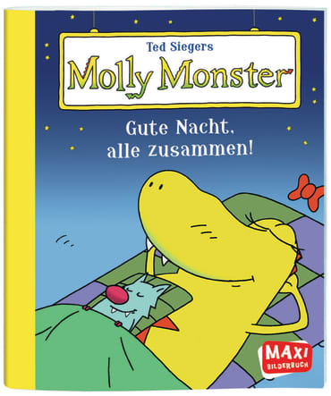 Ted Siegers Molly Monster, 9783770777068
