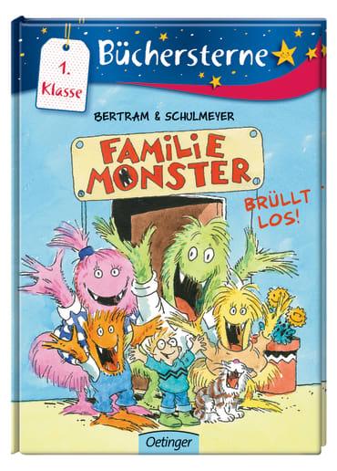 Familie Monster brüllt los!, 9783789108433