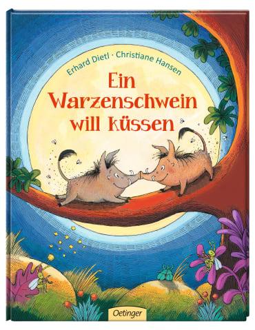 Ein Warzenschwein will küssen, 9783789108594