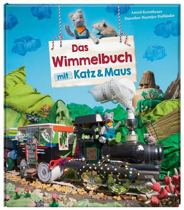 Das Wimmelbuch mit Katz und Maus, 9783770700356