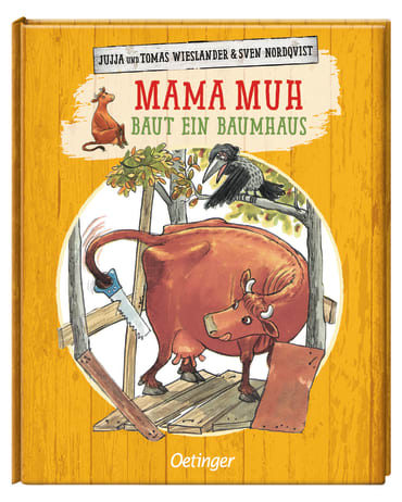 Mama Muh baut ein Baumhaus, 9783789109584