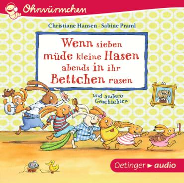 Wenn sieben müde kleine Hasen abends in ihr Bettchen rasen, 9783837309829