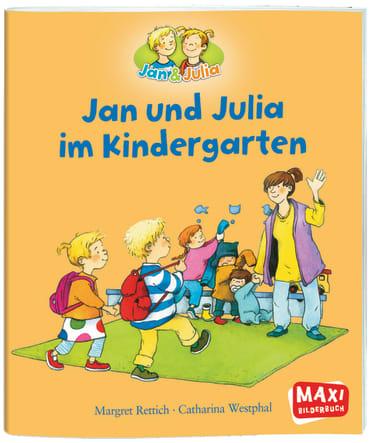 Jan und Julia im Kindergarten, 9783770777198