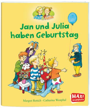 Jan und Julia haben Geburtstag, 9783770777204