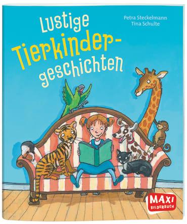 Lustige Tierkinder-Geschichten, 9783770701681