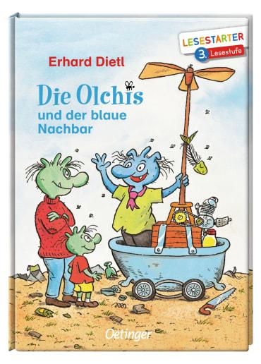 Die Olchis und der blaue Nachbar, 9783789112140