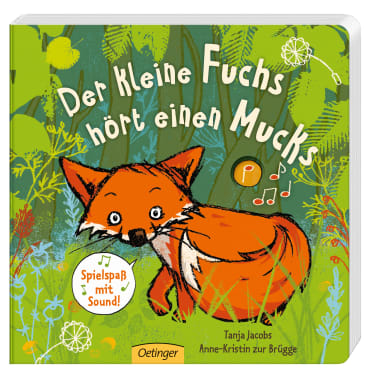 Der kleine Fuchs hört einen Mucks, 9783789109294