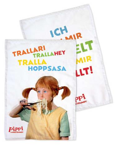 Pippi (Film) Küchentücher, 4260160895465