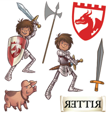 Der kleine Ritter Trenk Tattoos, 4260160893171