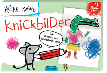 Krickel-Krakel Knickbilder-Block, 4260160896707