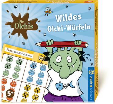 Die Olchis Wildes Olchi-Würfeln, 4260160896875