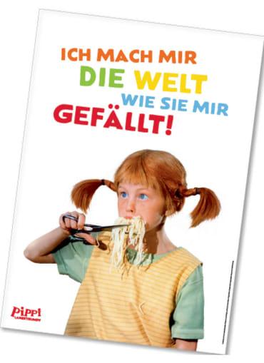 Pippi (Film) Poster Pippi ißt Spaghetti, 4260160897155