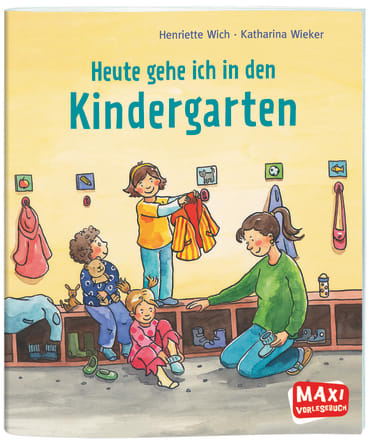 Heute gehe ich in den Kindergarten, 9783770776191