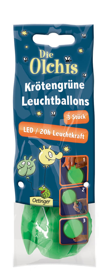 Die Olchis Krötengrüne Leuchtballons, 4260160897803