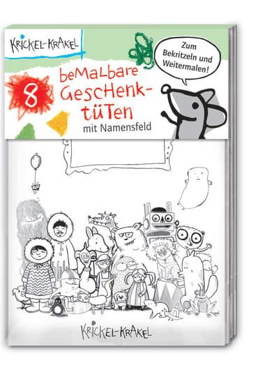 Krickel-Krakel Bemalbare Geschenktüten, 4260160896615