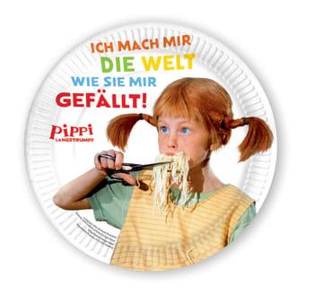 Pippi (Film) Pappteller, 4260160896035
