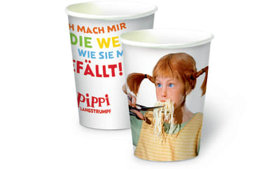Pippi (Film) Pappbecher, 4260160896042
