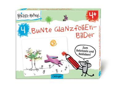 Krickel-Krakel Bunte Glanzfolienbilder, 4260160897865