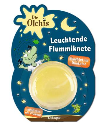 Die Olchis Leuchtende Flummiknete, 4260160897520