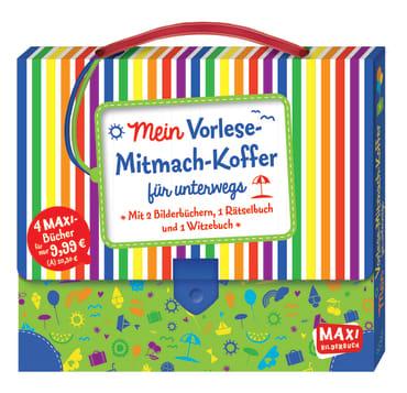 Mein Vorlese-Mitmach-Koffer für unterwegs, 9783770700349