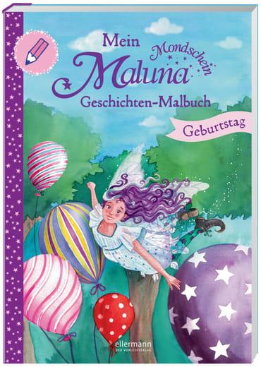 Mein Maluna Mondschein Geschichten-Malbuch, 9783770700172