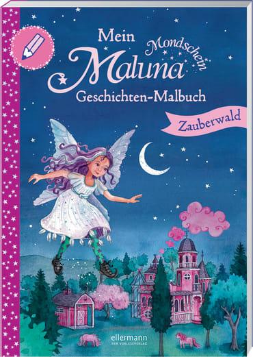 Mein Maluna Mondschein Geschichten-Malbuch, 9783770700189
