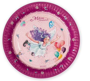 Maluna Mondschein Pappteller, 4260160881048