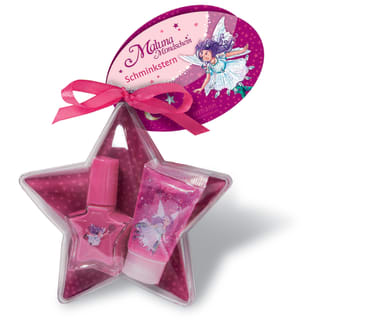 Maluna Mondschein Beauty-Stern mit Lipgloss und Nagellack, 4260160881116