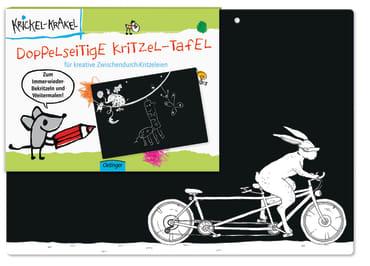 Krickel-Krakel Doppelseitige Kritzel-Tafel, 4260160899173