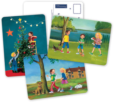 Möwenweg Postkartenbuch, 9783789104312