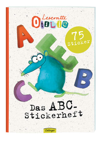 Leseratte ABC Stickerheft, 4260512180164