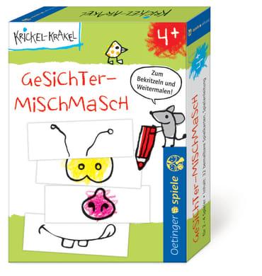 Krickel-Krakel Gesichter Mischmasch, 4260160898336