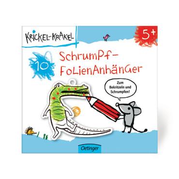 Krickel-Krakel Schrumpffolienanhänger, 4260160898350