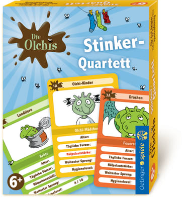 Die Olchis Olchi Stinker-Quartett, 4260160896844