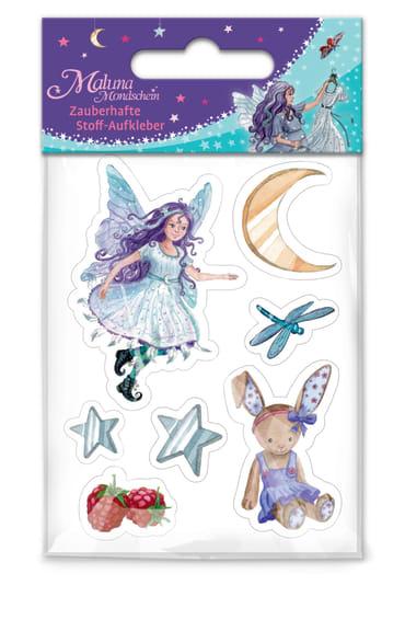 Maluna Mondschein Zauberhafte Stoff-Aufkleber, 4260160881352