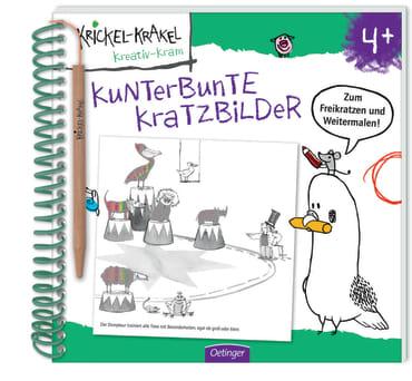 Krickel-Krakel Kratzbilder, 9783789104688
