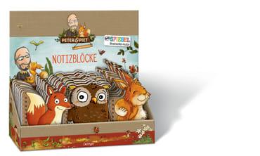 24er VK Peter & Piet. Notizblöcke Tiere, 4260512180829