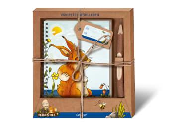 Peter & Piet. Geschenkset Notizbuch & Zweigstift, 4260512180720