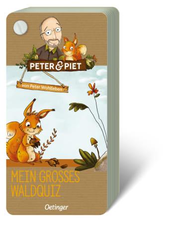Peter & Piet. Mein großes Wald-Quiz, 4260512180737