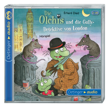 Die Olchis und die Gully-Detektive von London, 9783837307061