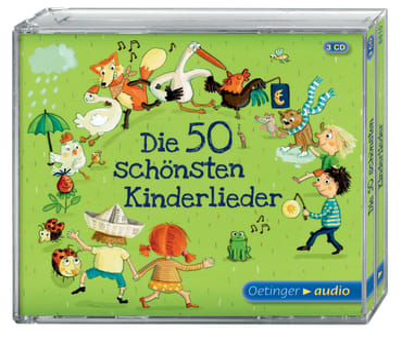 Die 50 schönsten Kinderlieder, 4260173788150