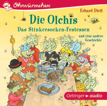 Die Olchis. Das Stinkersocken-Festessen und eine andere Geschichte, 9783837310610
