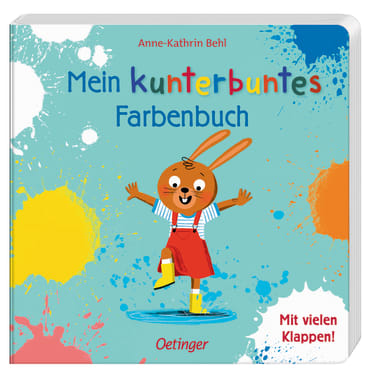 Mein kunterbuntes Farbenbuch, 9783789109713